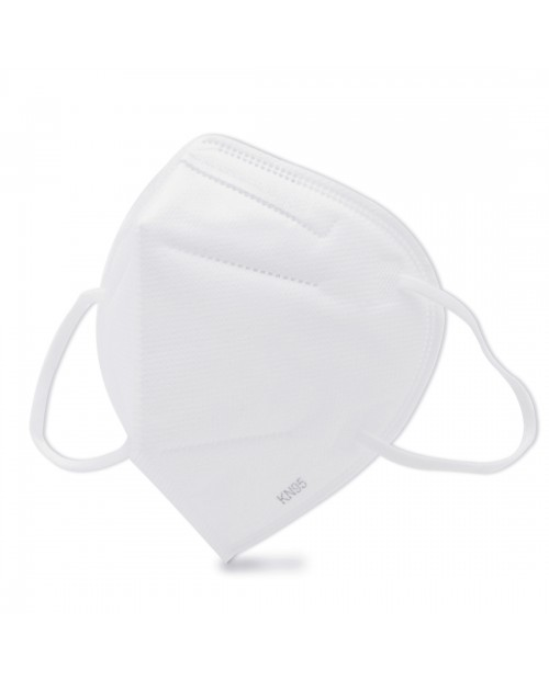 10 PCS CE Certified KN95 n95 Foldable Earloop Breathable Respirator Dustproof Protection Antiviral Anti-fog Face Mask(White)